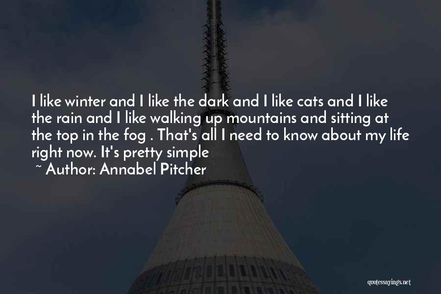 Cats And Life Quotes By Annabel Pitcher