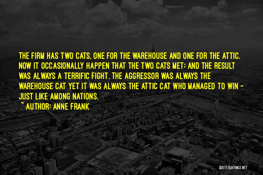 Cats And Life Quotes By Anne Frank