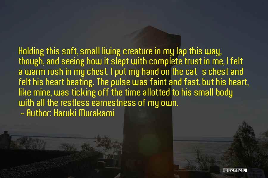 Cats And Life Quotes By Haruki Murakami