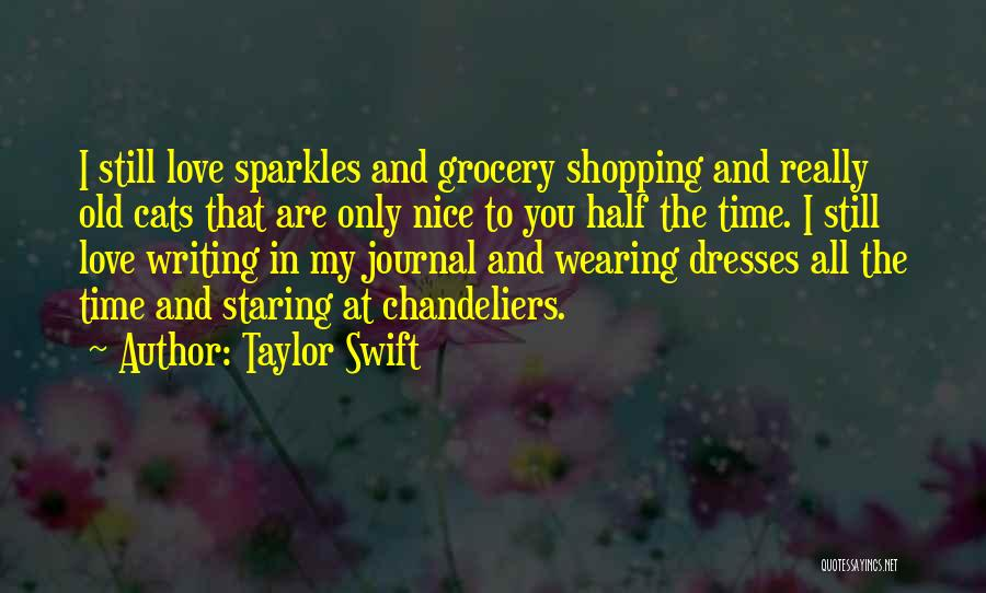 Cats And Life Quotes By Taylor Swift