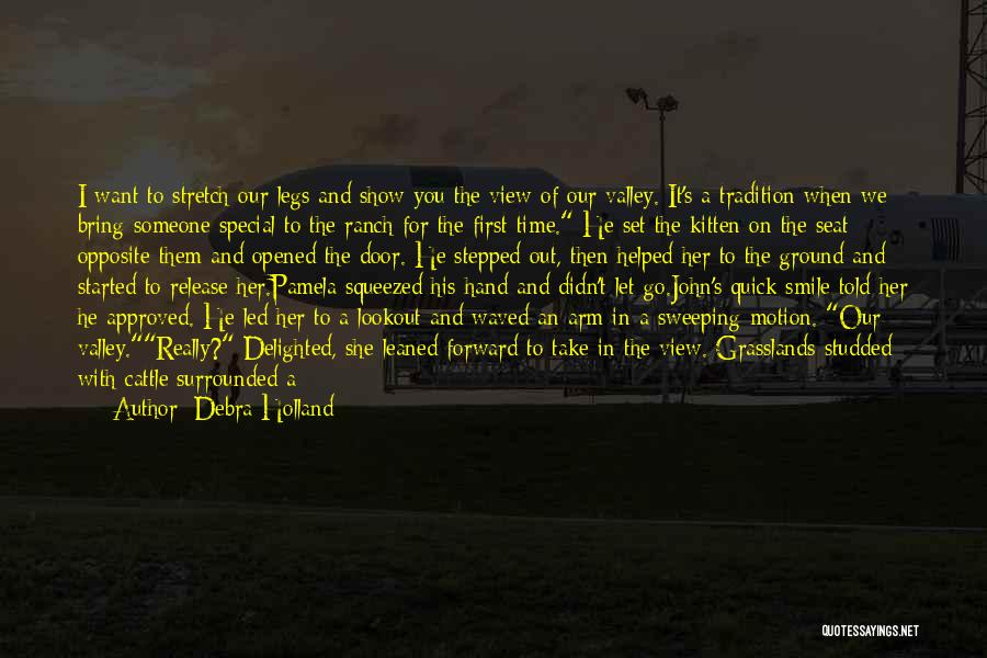 Cattle Ranch Quotes By Debra Holland