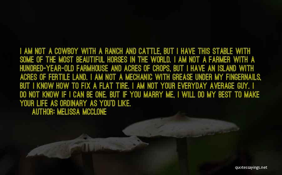 Cattle Ranch Quotes By Melissa McClone