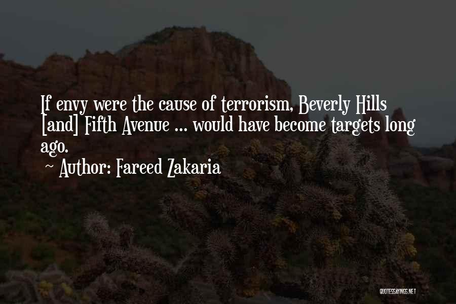 Cause Of Terrorism Quotes By Fareed Zakaria