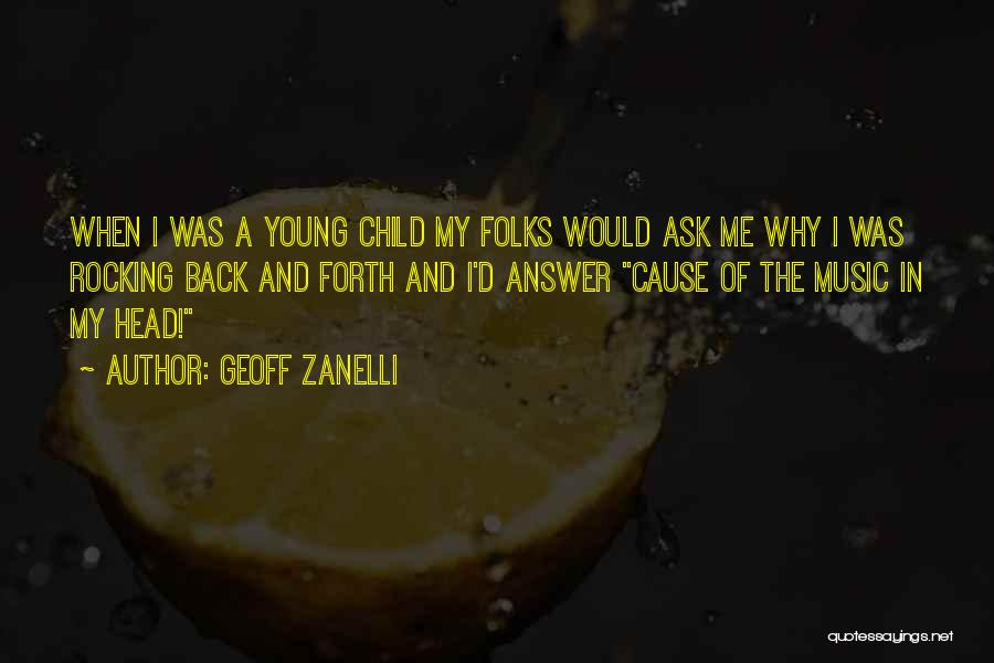 Cause We Are Young Quotes By Geoff Zanelli