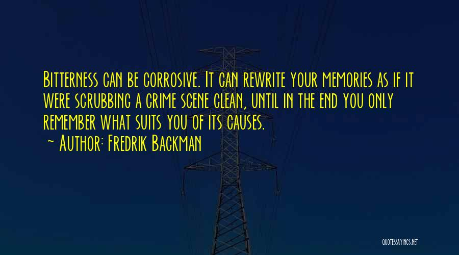 Causes Of Crime Quotes By Fredrik Backman