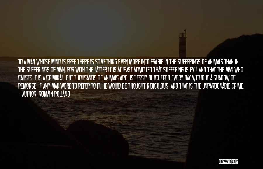 Causes Of Crime Quotes By Romain Rolland