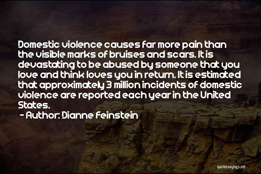 Causes Of Violence Quotes By Dianne Feinstein