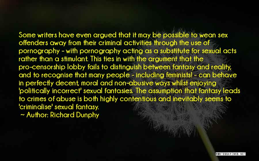 Causes Of Violence Quotes By Richard Dunphy