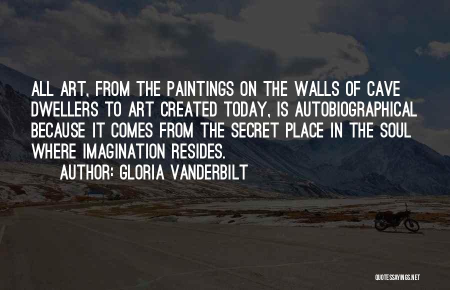 Cave Dwellers Quotes By Gloria Vanderbilt