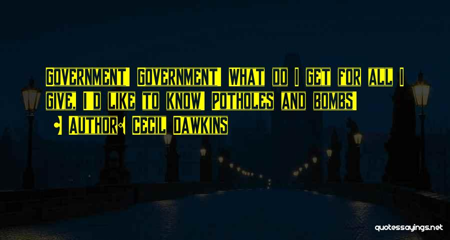 Cecil Dawkins Quotes 1179588