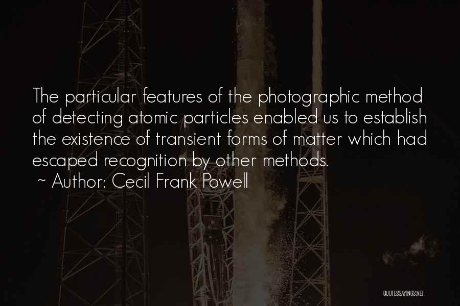 Cecil Frank Powell Quotes 872602