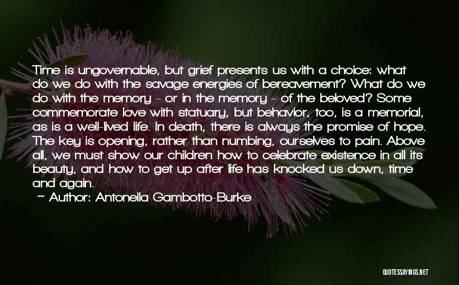 Celebrate Death Quotes By Antonella Gambotto-Burke