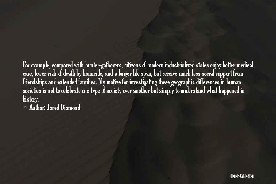 Celebrate Death Quotes By Jared Diamond