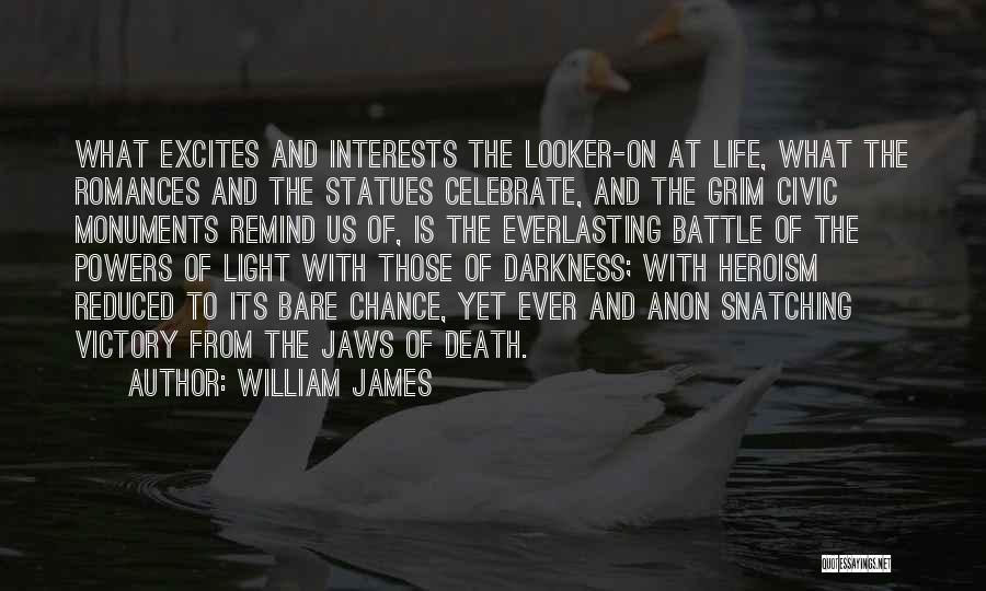 Celebrate Death Quotes By William James
