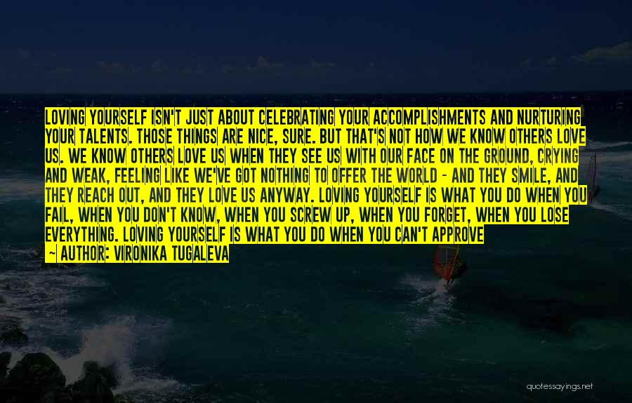Celebrating Accomplishments Quotes By Vironika Tugaleva