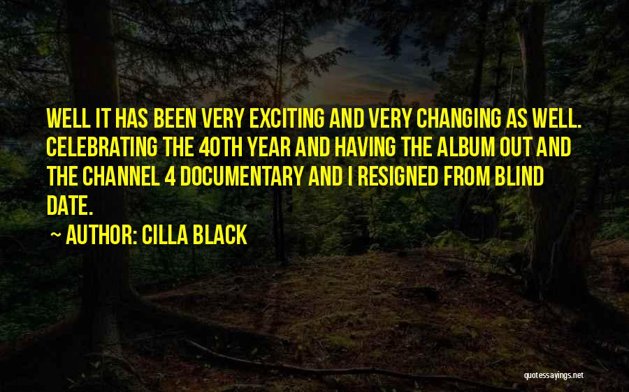 Celebrating Each Other Quotes By Cilla Black