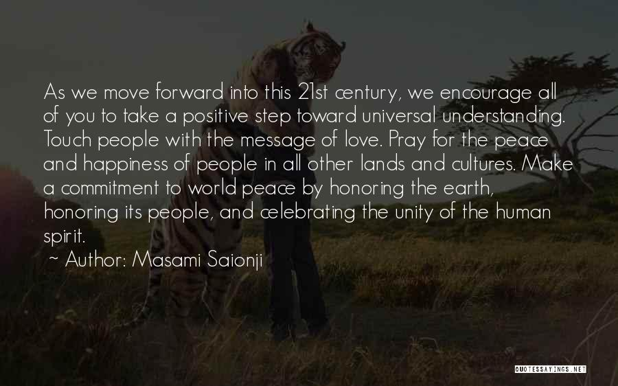 Celebrating Each Other Quotes By Masami Saionji