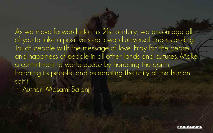 Celebrating Others Quotes By Masami Saionji