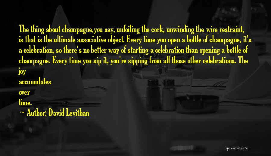 Celebrations Quotes By David Levithan