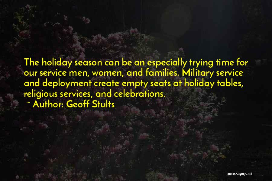 Celebrations Quotes By Geoff Stults