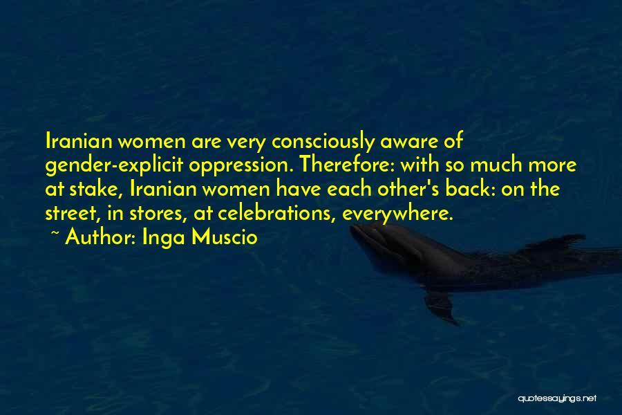 Celebrations Quotes By Inga Muscio