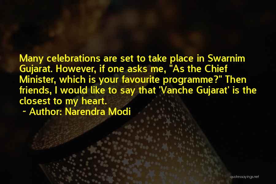 Celebrations Quotes By Narendra Modi