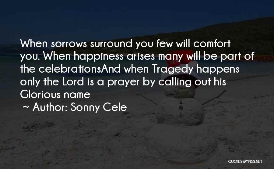 Celebrations Quotes By Sonny Cele