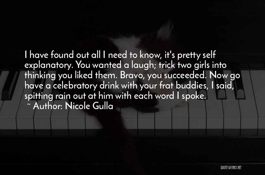 Celebratory Love Quotes By Nicole Gulla