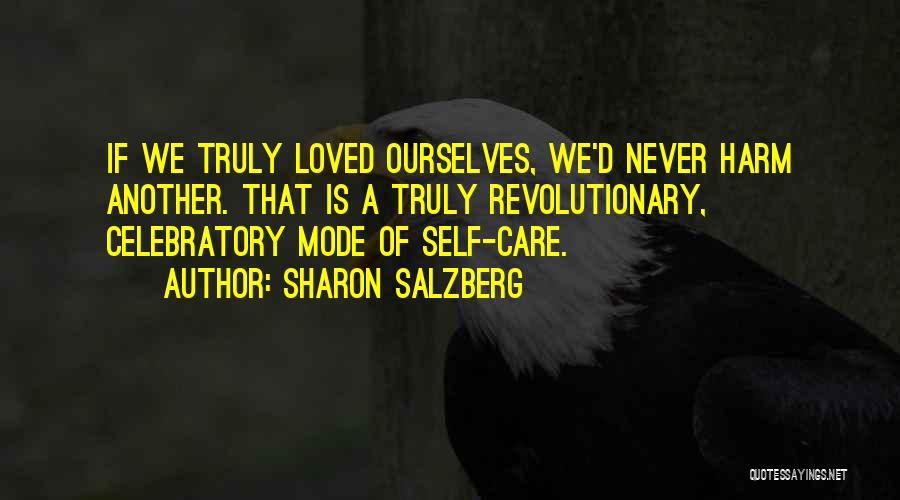 Celebratory Love Quotes By Sharon Salzberg