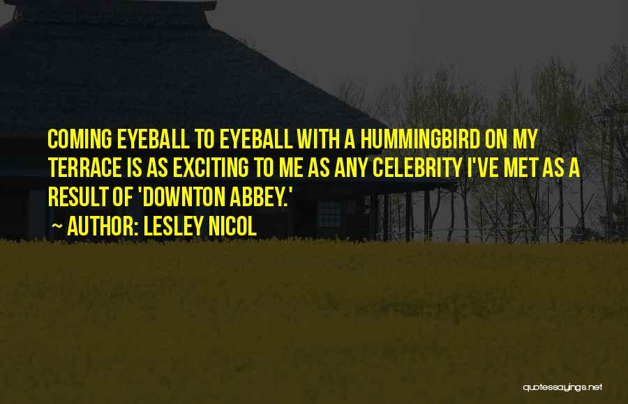 Celebrity Coming Out Quotes By Lesley Nicol