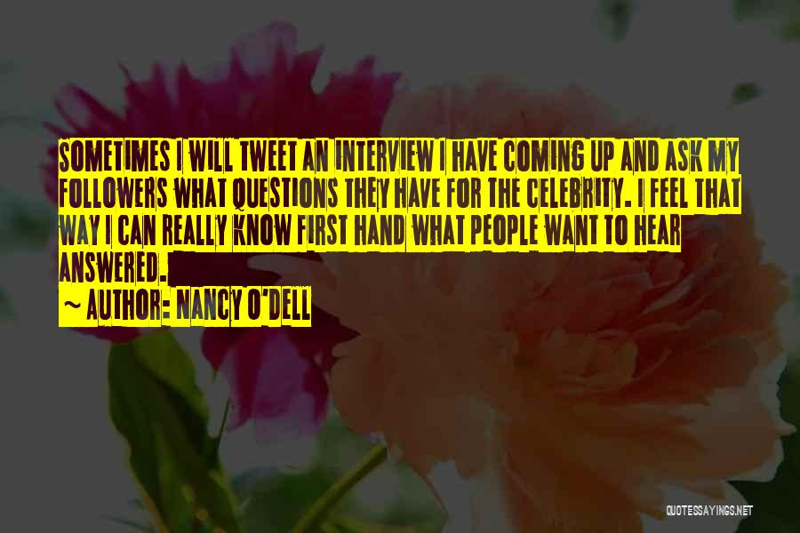 Celebrity Coming Out Quotes By Nancy O'Dell