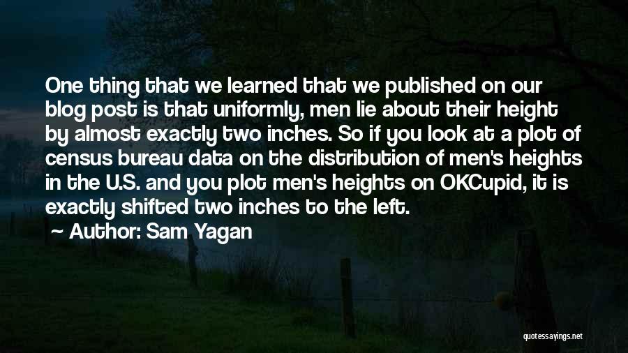 Census Data Quotes By Sam Yagan