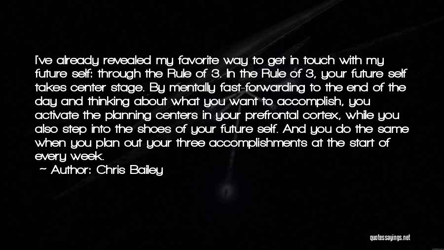 Center Stage 2 Quotes By Chris Bailey