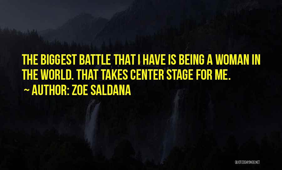 Center Stage 2 Quotes By Zoe Saldana