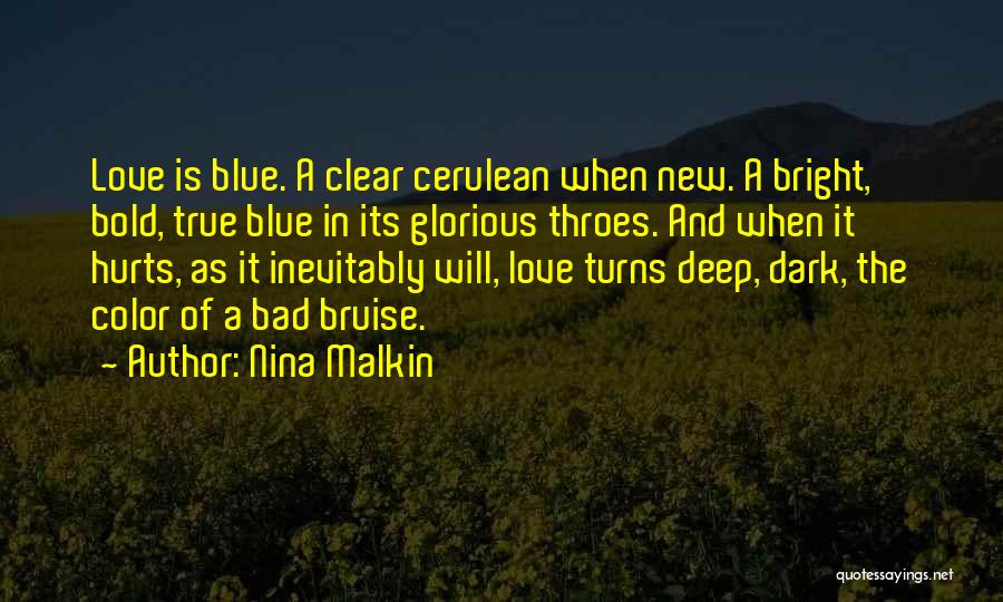 Cerulean Quotes By Nina Malkin