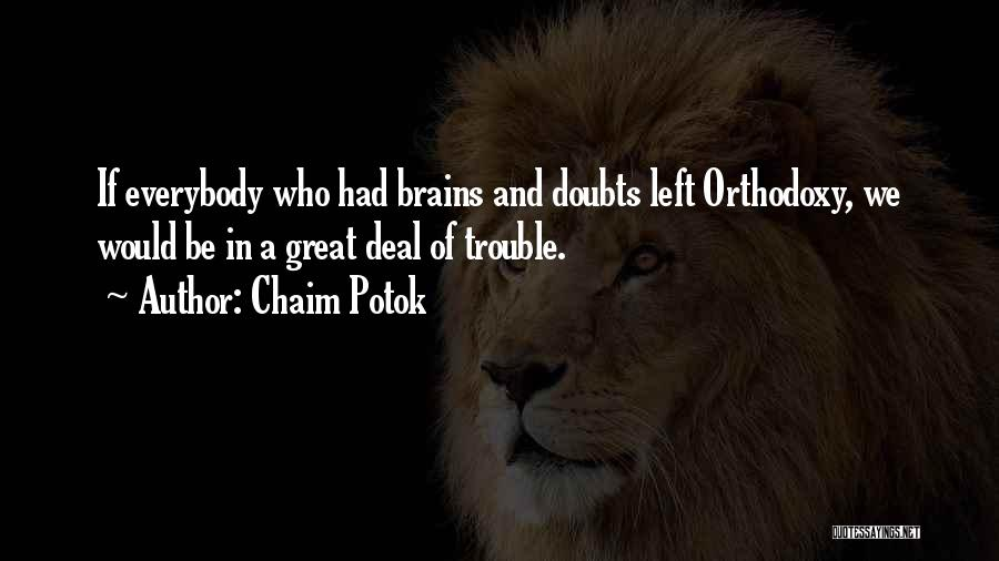 Chaim Potok Quotes 1047677