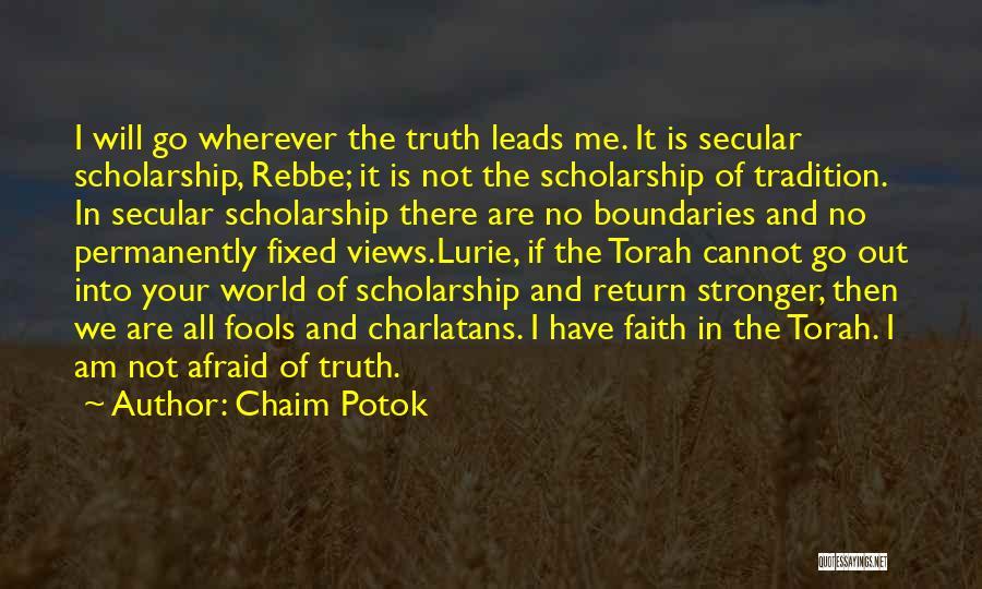 Chaim Potok Quotes 1593328