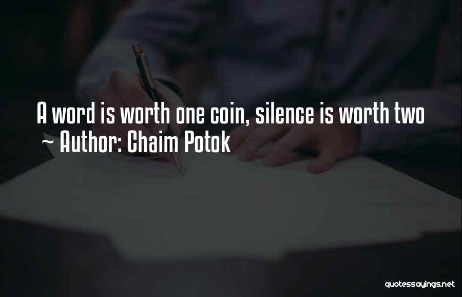 Chaim Potok Quotes 1708449