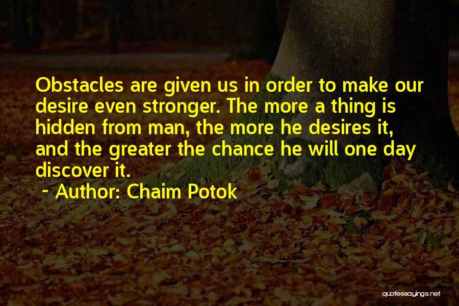 Chaim Potok Quotes 2212094