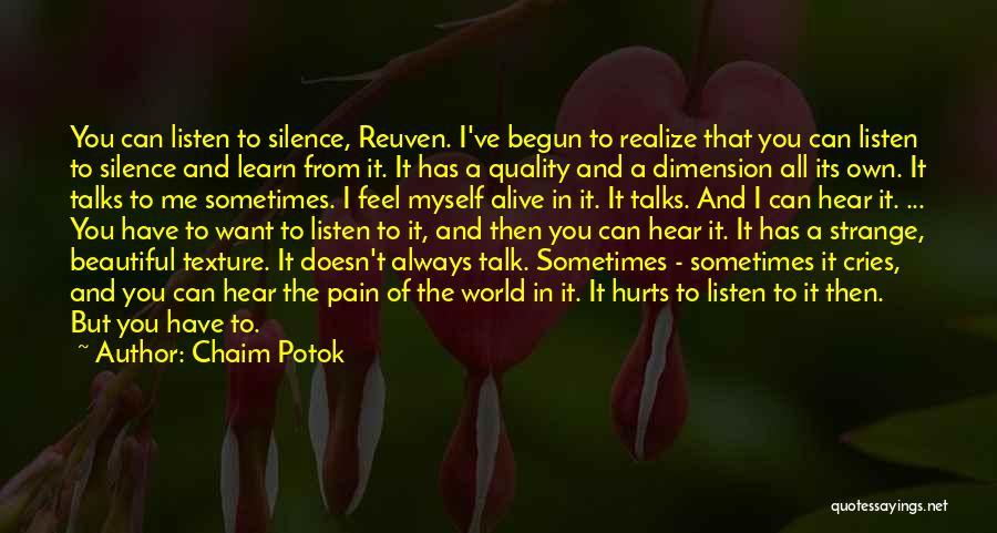Chaim Potok Quotes 235858