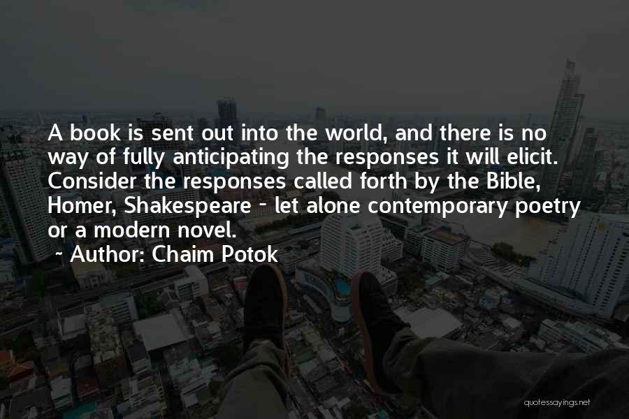 Chaim Potok Quotes 266089
