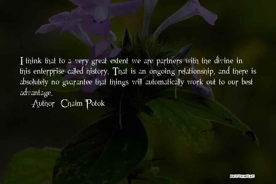 Chaim Potok Quotes 574437