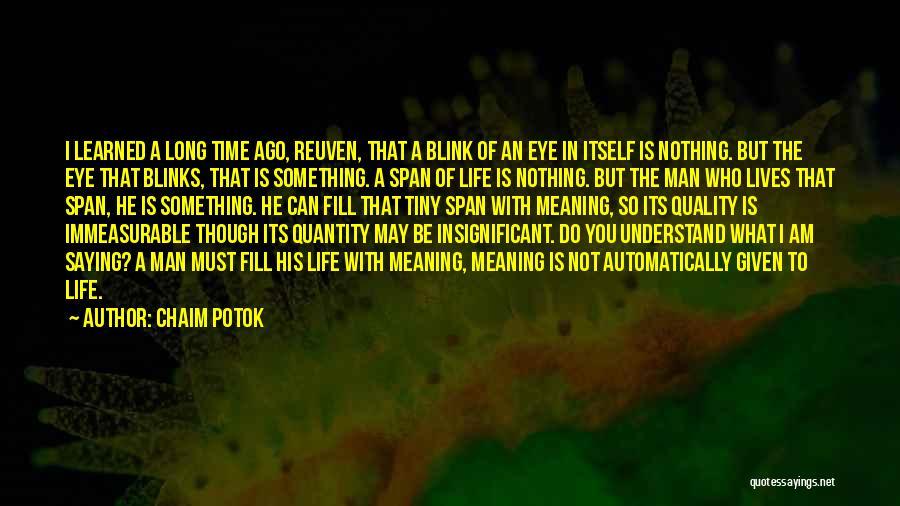 Chaim Potok Quotes 611890