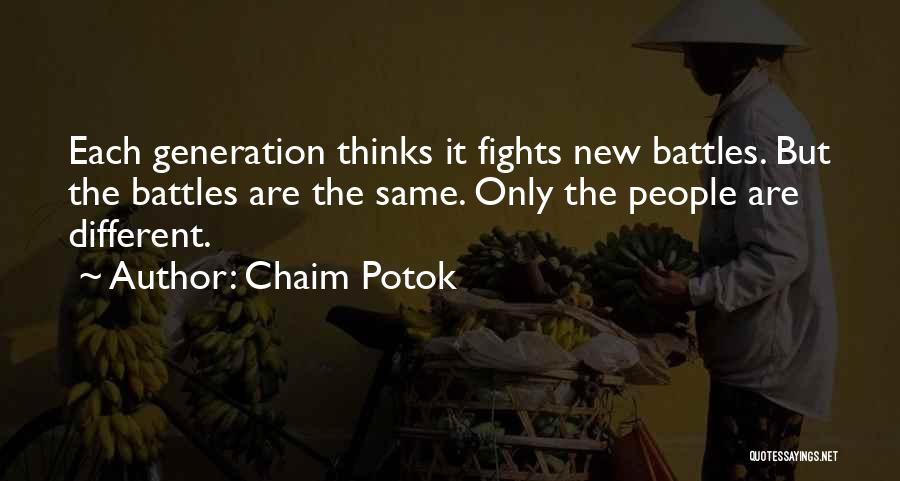 Chaim Potok Quotes 682775