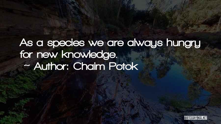 Chaim Potok Quotes 788693