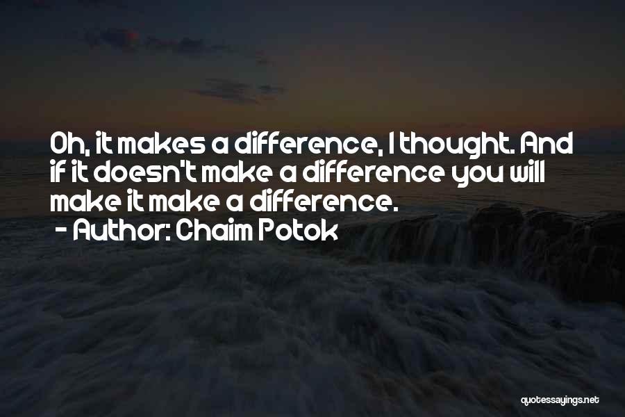 Chaim Potok Quotes 885093