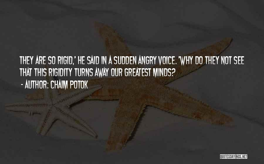 Chaim Potok Quotes 941115