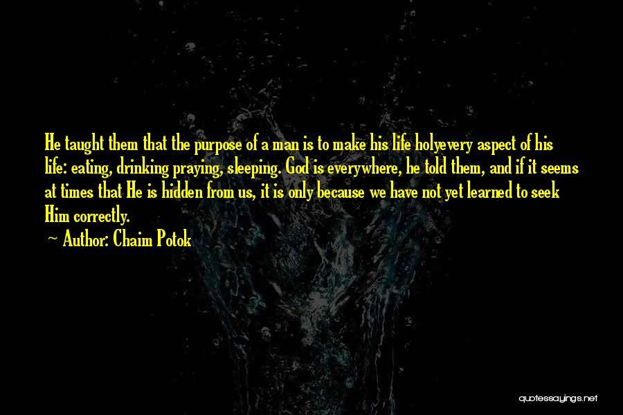 Chaim Potok Quotes 959472