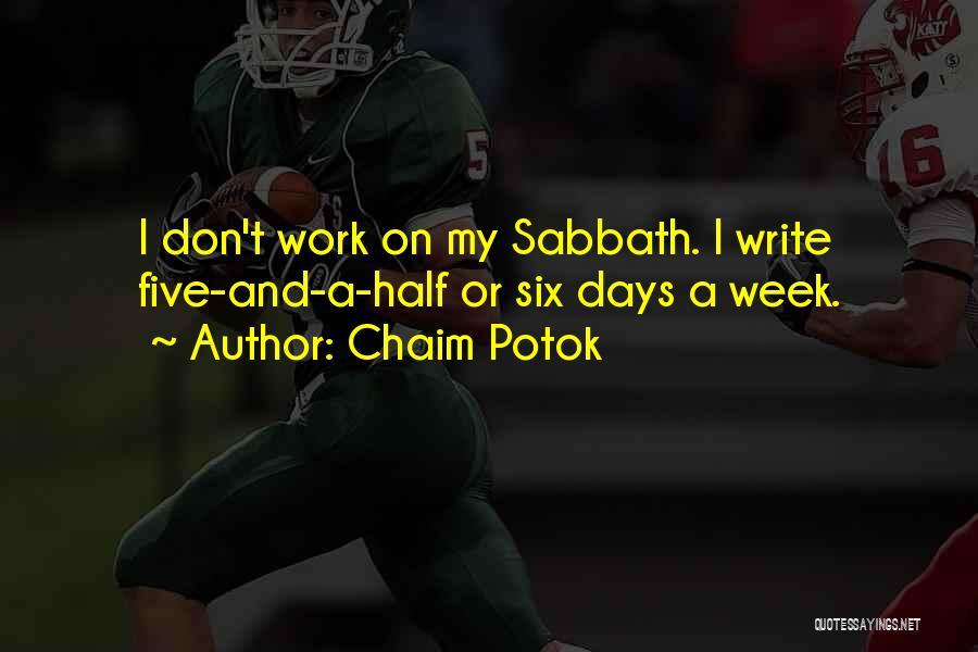 Chaim Potok Quotes 990836