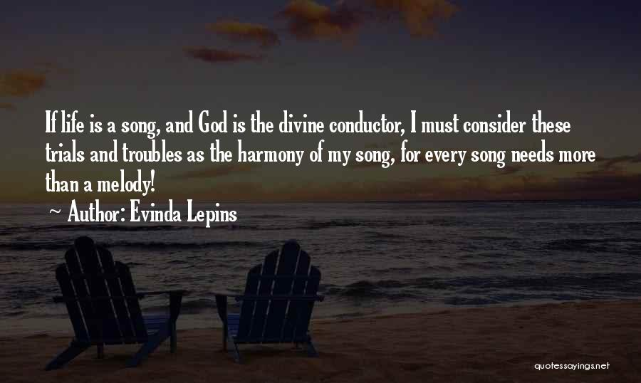 Challenges And Faith Quotes By Evinda Lepins